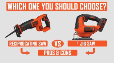 Reciprocating Saw Vs Jigsaw: Which One You Should Pick?