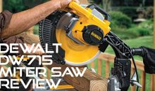 Dewalt DW715 Review: Why Should You Buy This Miter Saw?